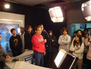 中文系「吉隆有線電視公司」及「中國時報」企業參訪