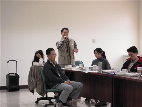 管理學院98學年度教師教學專業成長研習會:老師傅經驗傳授