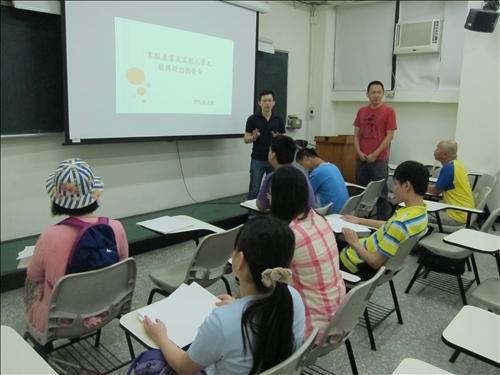 講師介紹視障電話客服行業現況與趨勢