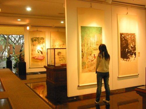 「2007台北縣美術家大展」,即日起至4月23日止,在本校文錙藝術中心與台北縣各地同步聯展。