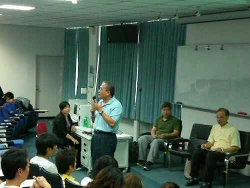 Cool Taiwan 行動!本校未來學研究所與水環系合辦「全球暖化」環境論壇,邀請專家學者討論溫室效應如何破壞生態,以及人類應該採取何種行動來保護地球。