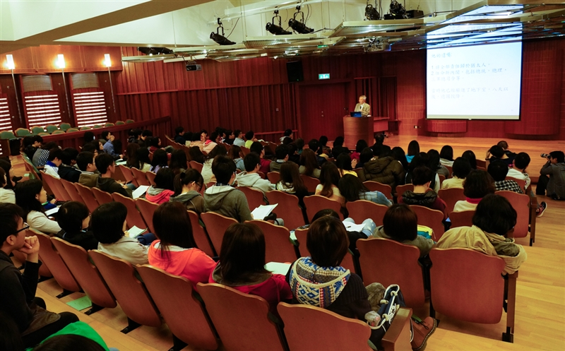 國策顧問李家同教授蒞校專題演講:「從28篇經典演說學思考」。
