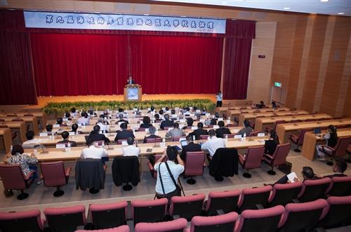 「海峽兩岸暨港澳地區大學校長論壇」於本校蘭陽校園舉行首場論壇。