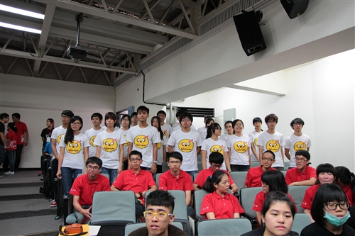「愛與希望」暑假社會服務隊授旗出發!