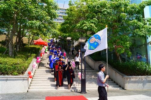 蘭陽校園舉行第5屆畢業典禮。