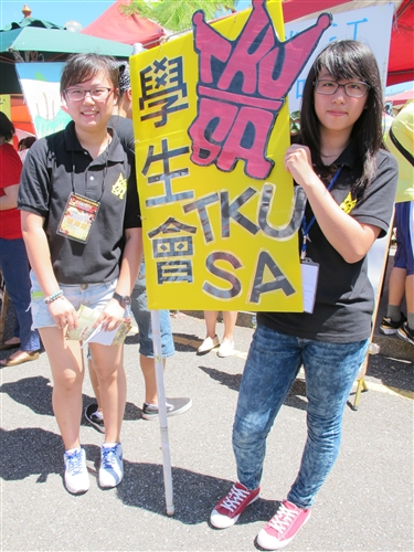 學生會、聯合校友會共同舉辦「102學年度社團招生博覽會」。