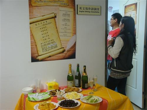 英文系成立「學術英文寫作諮詢室」,提供英文寫作相關建議。