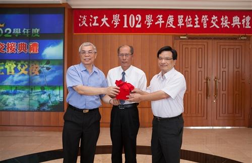 本校舉行102學年度單位主管交接典禮。