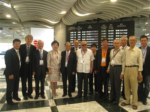 淡江大學全國校友總會於花蓮舉行第9屆第1次會員代表大會。