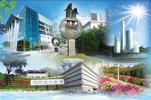 蘭陽校園紹謨紀念活動中心內牆大圖