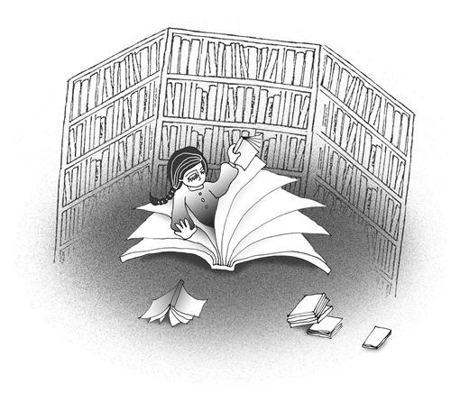 圖書館偏執狂