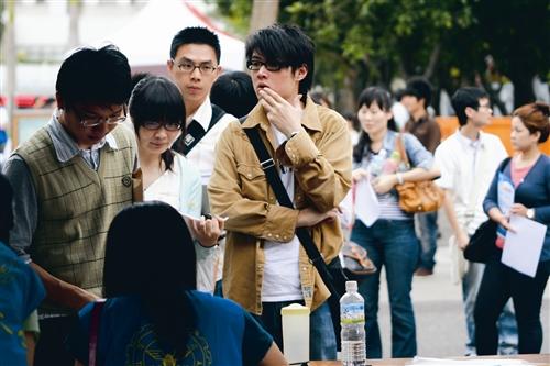 本校就業博覽會 近800位畢業生現場面試