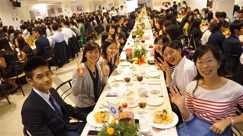 104學年度蘭陽校園High Table Dinner-住宿學院「新聲」餐會