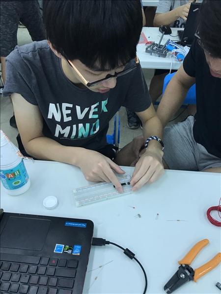 107年度 達文西樂創基地及自造課程培訓與推廣- Maker自造者暑期工作坊