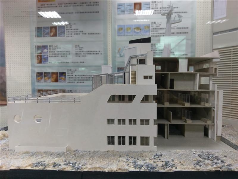 海事博物館環教模型2