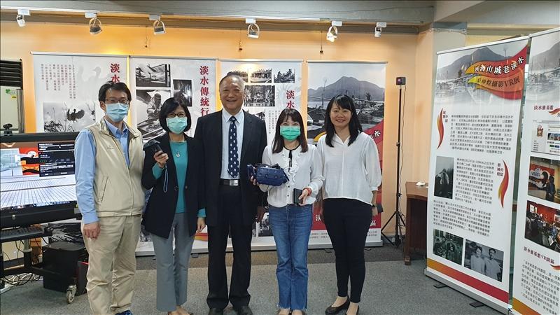 《河海山城老淡水–蔡坤煌攝影VR展》
