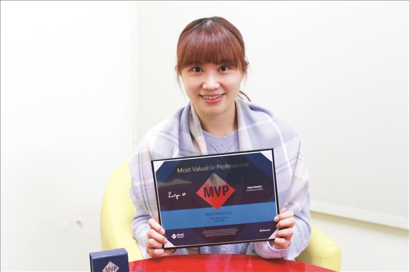 統計系校友劉文琇 微軟認證MVP講師