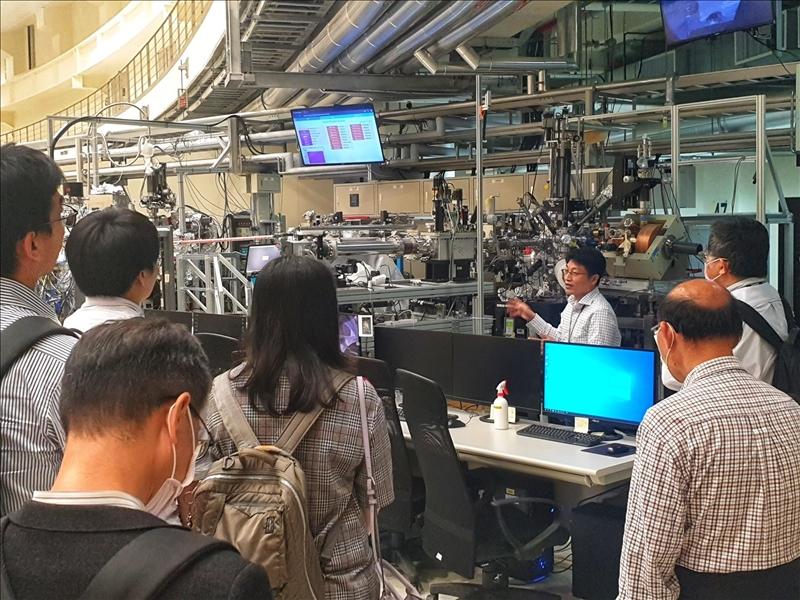 何啟東帶隊參訪新竹國家輻射中心