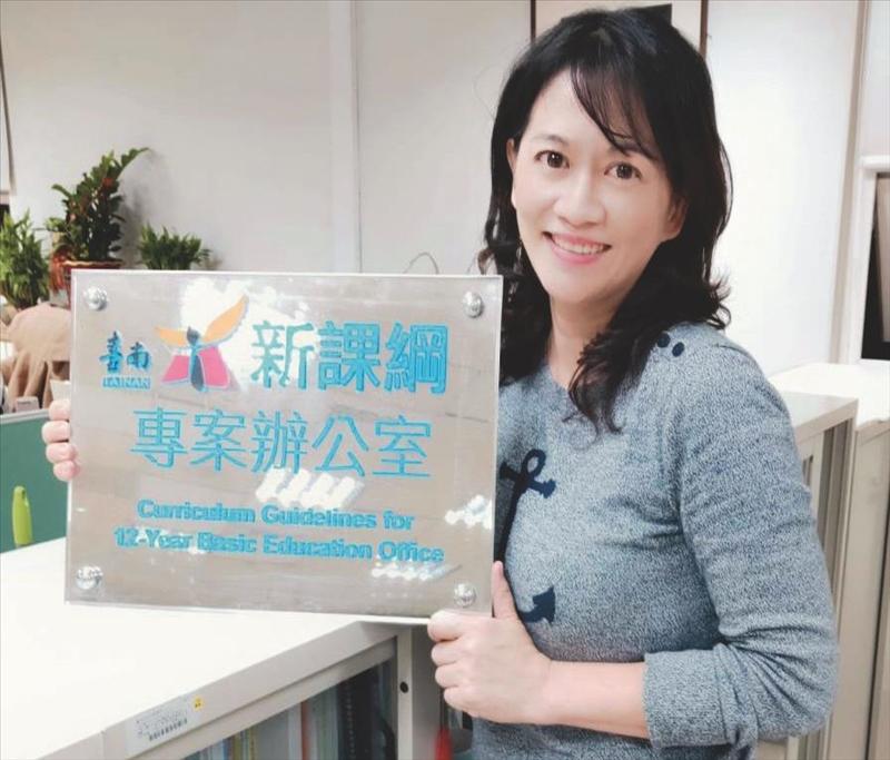 陳思瑀琢磨兩年 臺南公播課程建立好口碑